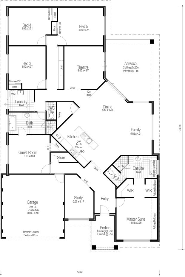 Choice Series - The Lifestyle 300 - Floorplan