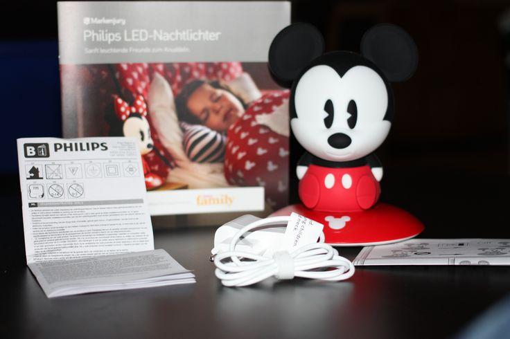 LED-Nachtlichter von Philips - Gerade bei uns im Test - die Mickey Mouse