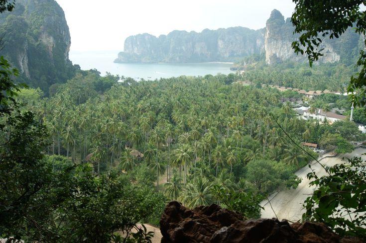 A la découverte de Bangkok, Koh Lanta et Ao Nang. Railey Beach-Thailande-hike