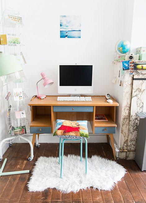 Binnenkijken in een kleurrijk vintage appartement in Gent / www.woonblog.be