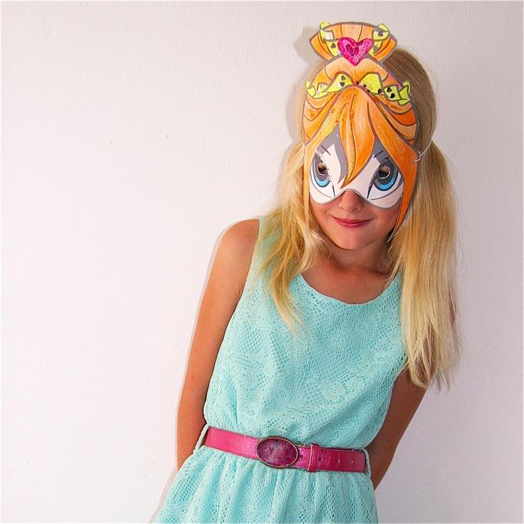 www.playwinxclub.com -Bloom- Magic Masks