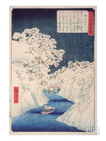 Views of Edo Giclee Print by Ando Hiroshige at Art.com 30 x 40