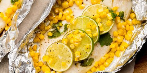 Cooking fish in these foil packs is a total cinch! Check out this Honey-Lime Tilapia and Corn Foil Pack Recipe.