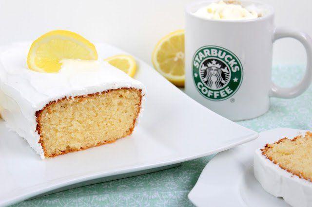 Kennt Ihr den Zitronenkuchen von Starbucks? Wenn ihr diesen mögt, werdet Ihr di…