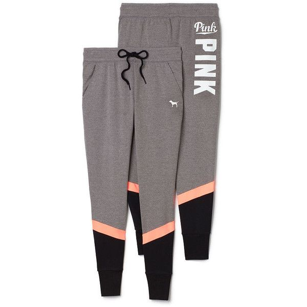 Cute Sweatpants & Joggers for Women - PINK ($50) ❤ liked on Polyvore featuring activewear and activewear pants