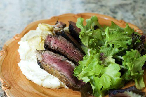 Pan Fried Ribeye Steak by Ree Drummond / The Pioneer Woman