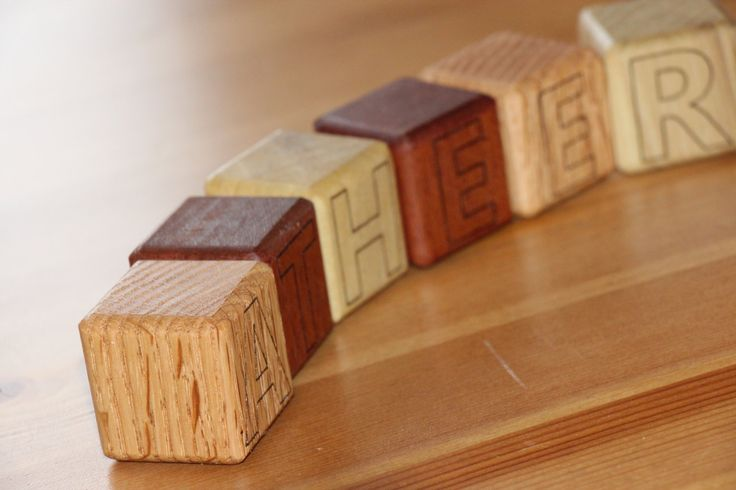 Little Baby Cubes by Woodblends on Etsy