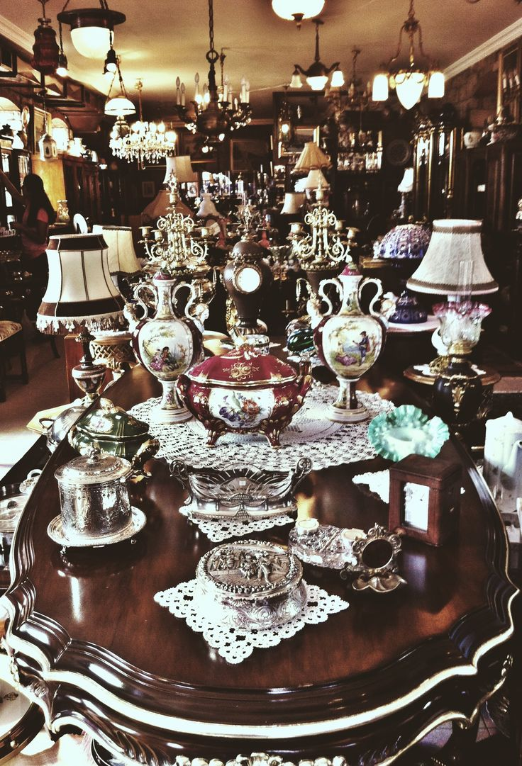 Cunda Island / Turkey Antique-Vintage Shop