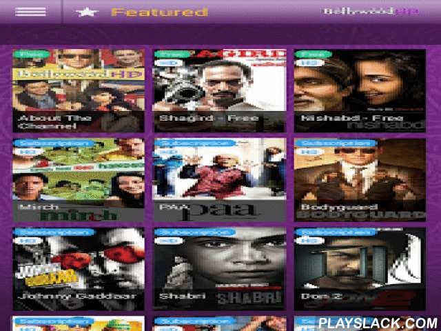 Bollywood Channel  Android App - playslack.com ,  Bollywood VOD Movie Channel HD is now available on your Android tablets and smartphones.The Bollywood channel is the world's first and only purely HD and VOD Indian movie channel, airing hundreds of hours of the best of VOD Bollywood and Indian feature films, in full HD.Current and classic movies in various genres: action, comedy, musical, drama & romance.Starring Salman khan, Katrina kaif ,Raj Kappor, Dev Anand, Dilip Kumar, Erkha, Hema…