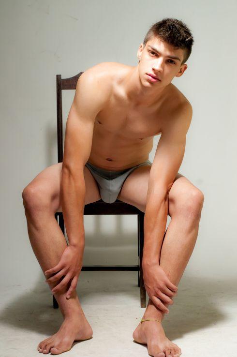 Sexy Homosexuell männliche Füße