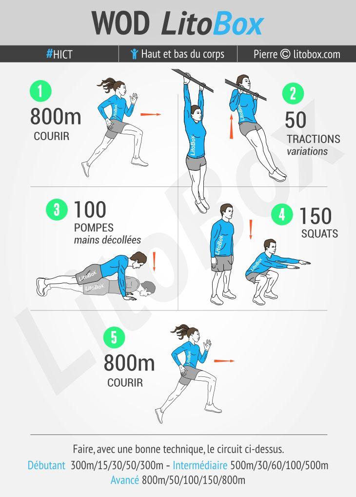 WOD des CrossFit Games au poids du corps du 29/07/2015