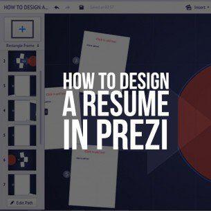 How To Design A Resume In Prezi – Prezume