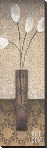 Opal Accent II Stretched Canvas Print at Art.com