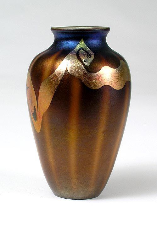 Tiffany Glass Vase