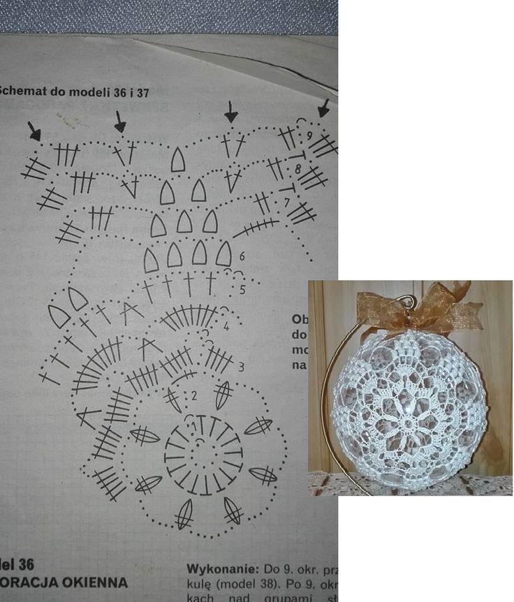 Znalezione obrazy dla zapytania schematy bombek by siwa