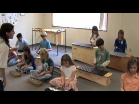 Cool Orff arrangement.  I have always loved Orff instruments, a great opportunity for any young child