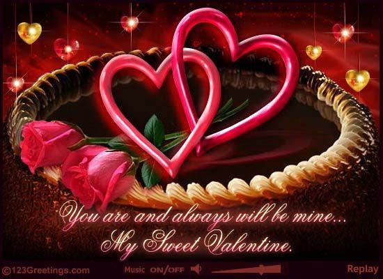 Doc550325 123 Valentine Cards A Valentines Day Rose ecard – 123 Valentine Cards