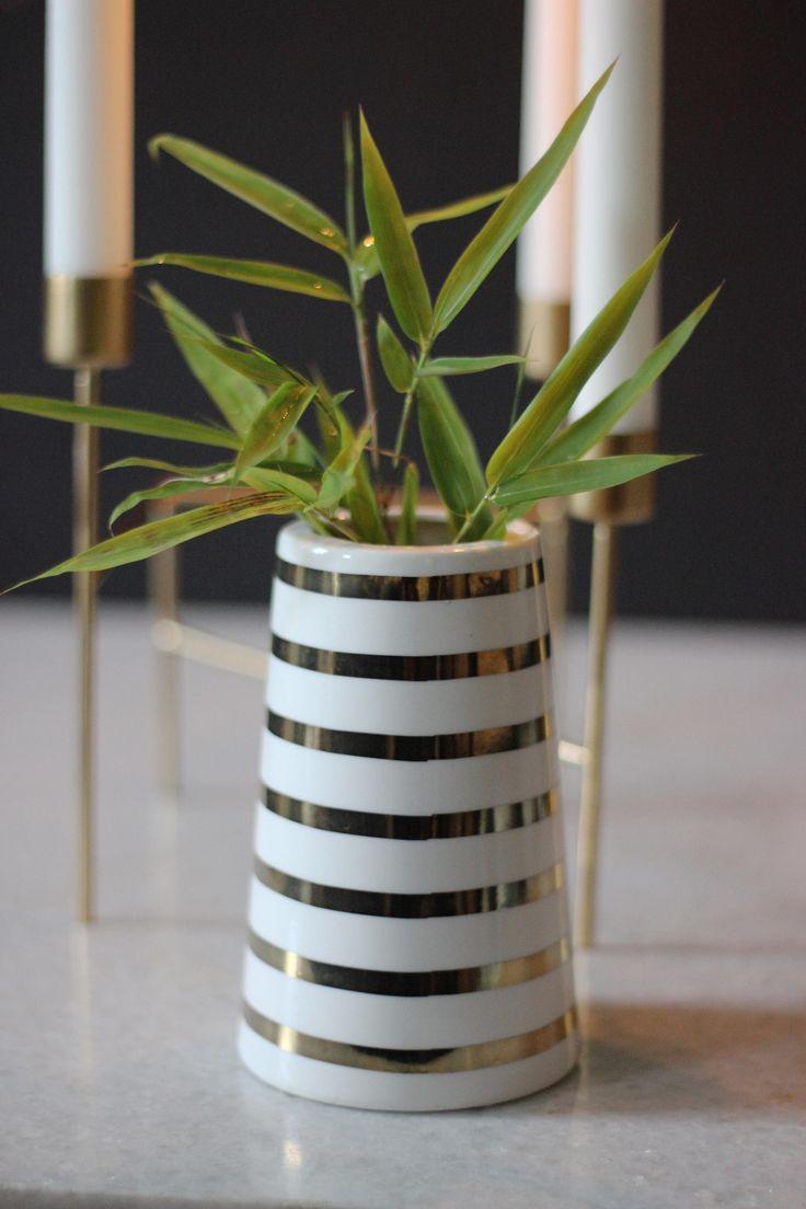 Golden Sailor Stripes Vase http://www.aprilandthebear.com/home-accessories/three-brass-candleholder