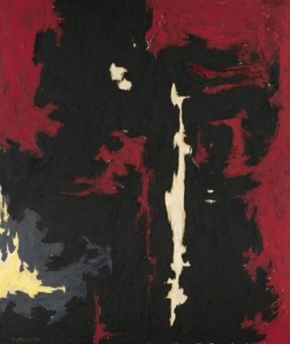 1949 A No1 - Clyfford Still (paintings, plastic arts, visual arts, fine arts, abstract expressionism)
