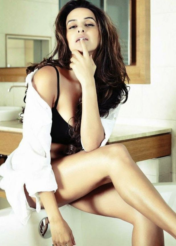 Watch more stills of neha dhupia at http://edlabandi.com/gallery-373-neha-dhupia-latest-fhm-photoshoot-stills.html
