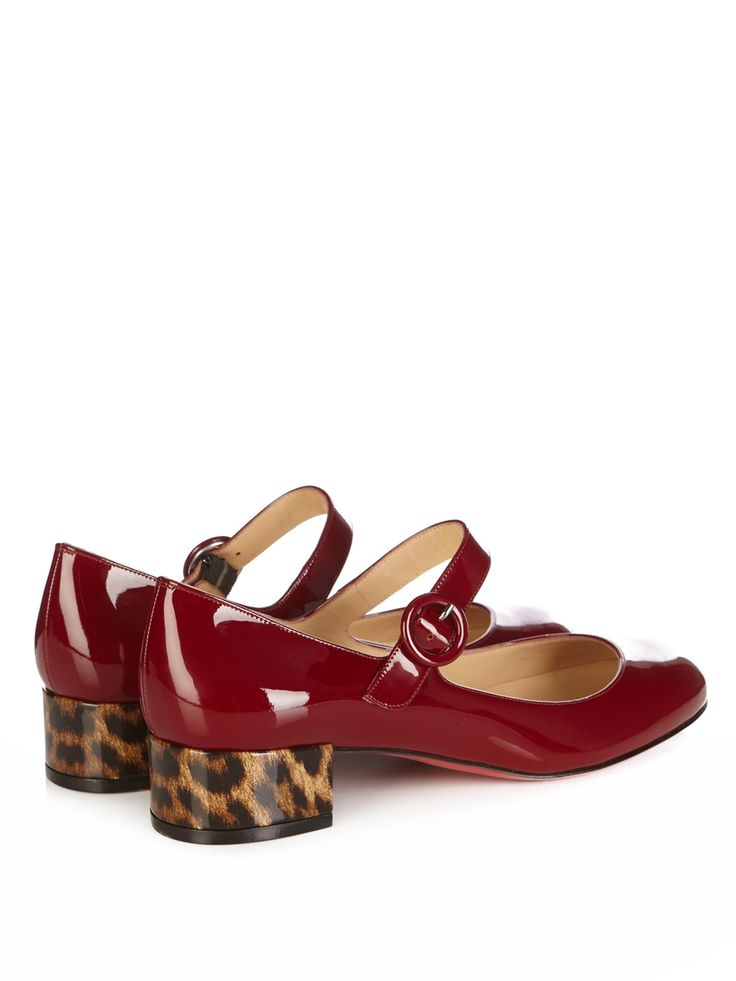Dolly Birdy garnetred patent-leather pumps | Christian Louboutin |  MATCHESFASHION.COM