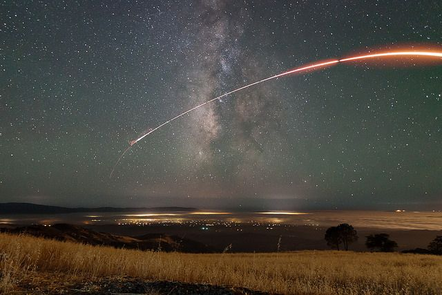 Rocket Trail | Flickr - Photo Sharing!