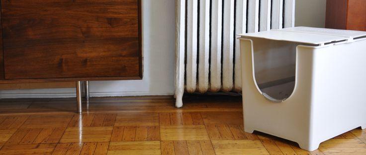 Flip Litter Box | ModkoFlip Litter, 125 Flip, Cat Litter Boxes, Modko Flip, Cat Boxes, Animal House, Boxes Convertible, Flip Cat, Cat Products