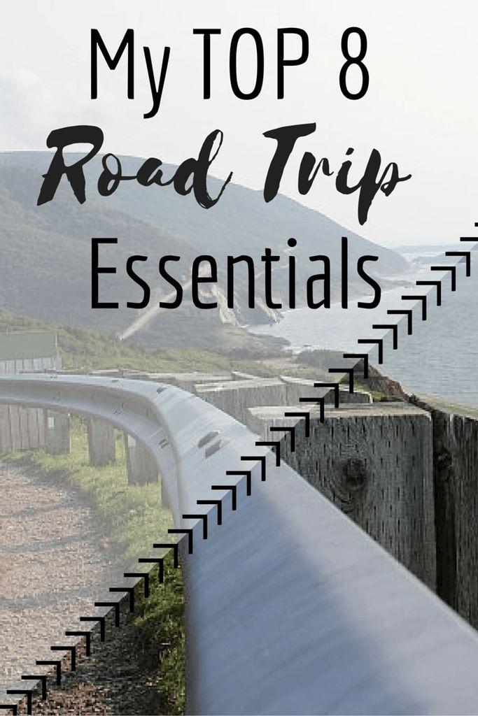 My Top 8 Summer Road Trip Essentials – Sincerely, Rowan