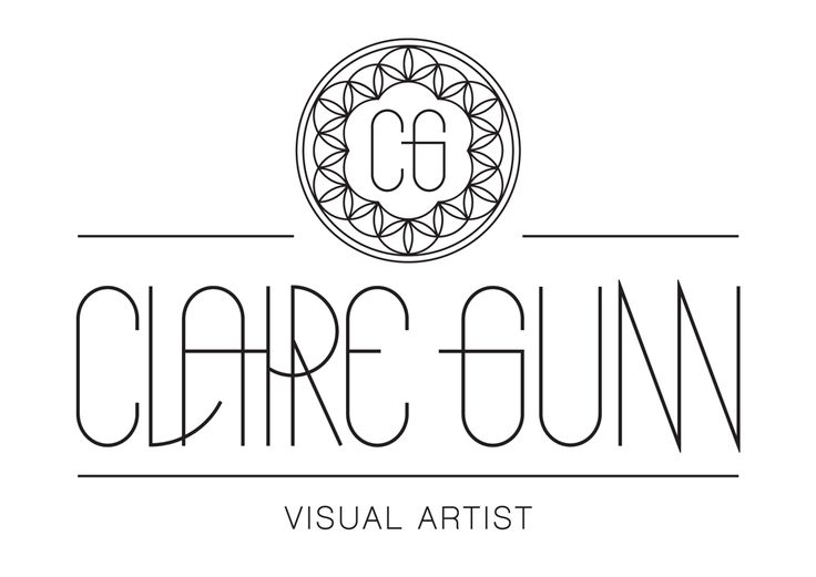 Logo design for Claire Gunn, a photographer and visual artist.