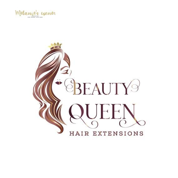 Hair Extensions Logo Hair Logo Hair Salon Logo Logo Design