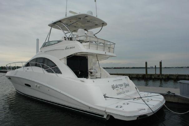 2008 Sea Ray 47 Sedan Bridge Power Boat For Sale - www.yachtworld.com