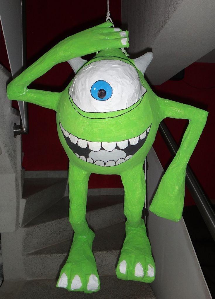 Las 25 mejores ideas sobre cumplea os de monsters inc en - Pinatas para cumpleanos infantiles ...