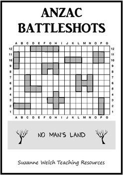 A super-fun game that your students will love!  Particularly suitable for New Zealand and Australian classrooms that are looking for learning activities based around Anzac Day.Youre in a trench above Anzac Cove.  You receive a coded message from your Commander.