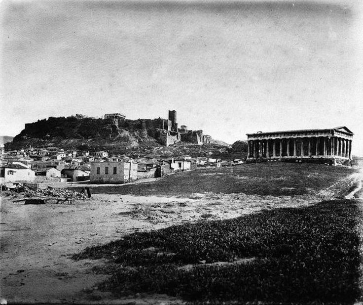 παλιά Αθήνα-Η Ακρόπολη-Θησείο-