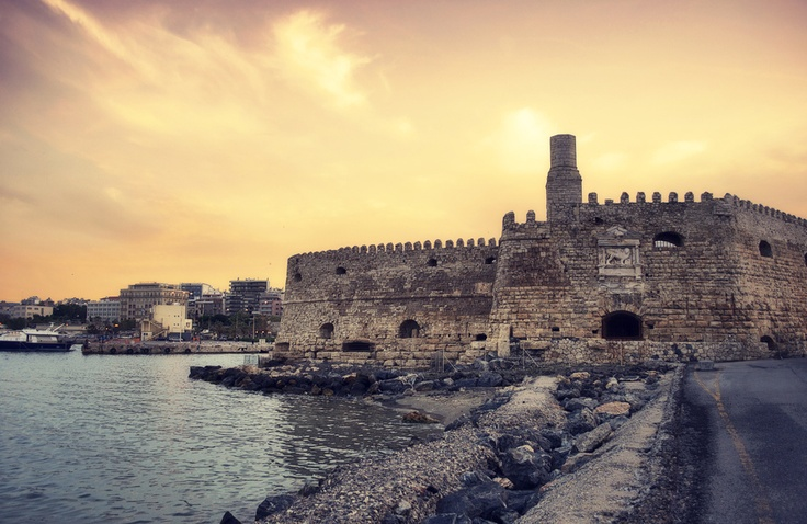 Koules, the Venetian Fortress in Heraklion, Crete