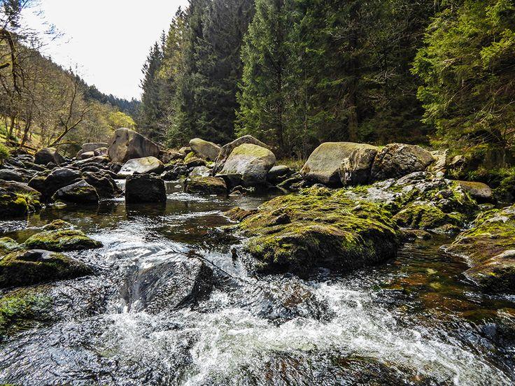 Die Oker im Harz. Fabelhaft zum Wandern, Kraxxeln und Klettern.  www.treat-of-freedom.de  Abenteuer * Individualreisen * Bushcraft * Outdoor * Natur