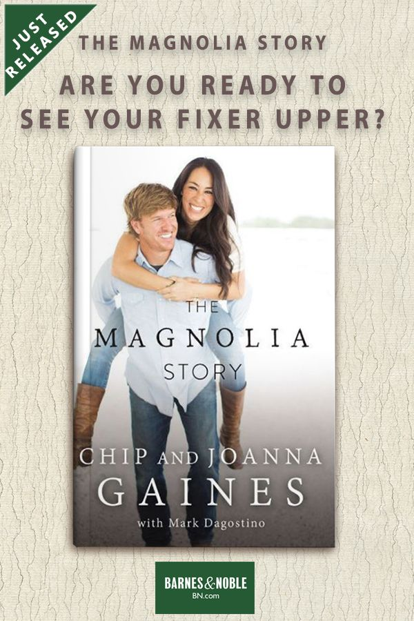The Magnolia Story is the first book from Chip and Joanna, offering their fans a detailed look at their life together. From the very first renovation project they ever tackled together, to the project that nearly cost them everything; from the childhood memories that shaped them, to the twists and turns that led them to the life they share on the farm today. Buy at B&N Today!