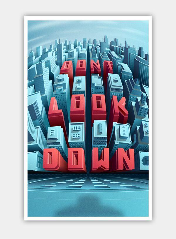 Dont.Look.Down | Coen Phol | Abduzeedo Design Inspiration