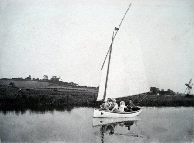 sailing with Edward Boardman