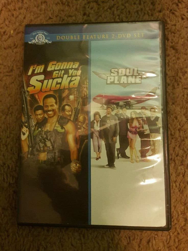 I'M GOING TO GIT YOU SUCKA / SOUL PLANE ( DVD 2008)  RARE DOUBLE FEATURE