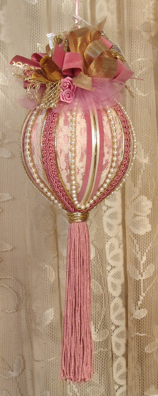 Handmade VICTORIAN CHRISTMAS Ornament