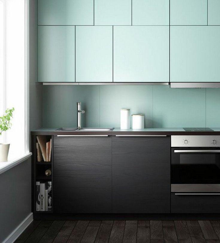 couleur pour cuisine 105 id es de peinture murale et fa ade design armoires et fa ades. Black Bedroom Furniture Sets. Home Design Ideas