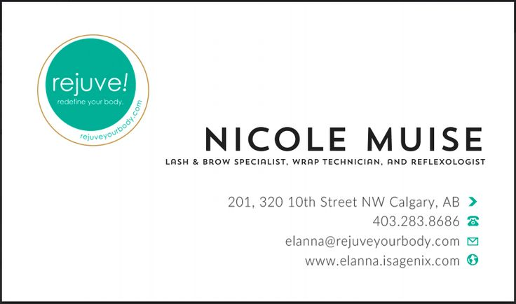 Cards for Rejuve's newest team member, go see her and get lashes like you've never had before! http://www.rejuveyourbody.com