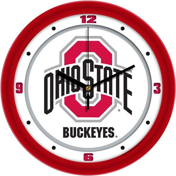 Ohio State Buckeyes-Traditional Wall Clock