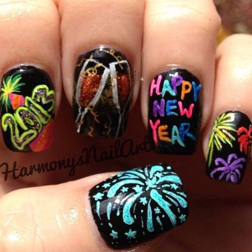 Best New Year Nails To Kick Off 2016
