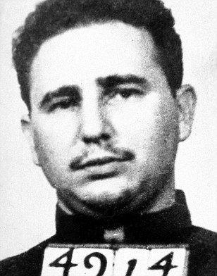 Cuban revolutionary FIDEL CASTRO was arrested after a guerrilla attack in 1953
