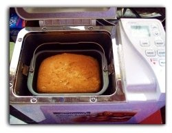 The Machine Does Its Magic  Banana bread