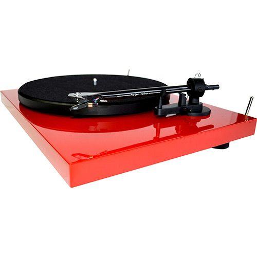 Toca Discos Pro-Ject Audio Systems Vermelho