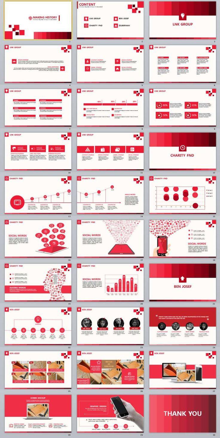 30+ Business Powerpoint Presentation Template