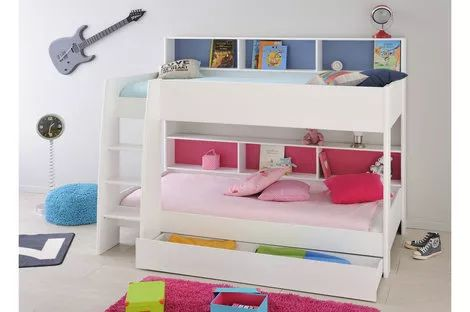 Tam Tam White Bunk Bed